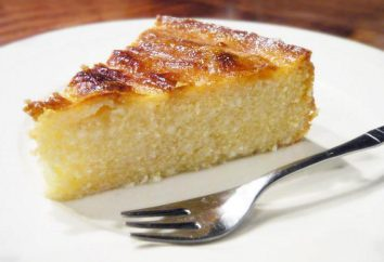 Faire le gâteau au fromage avec de la semoule à la maison