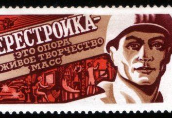 Ristrutturazione – è … Gorbaciov di perestrojka. Durante gli anni perestroika