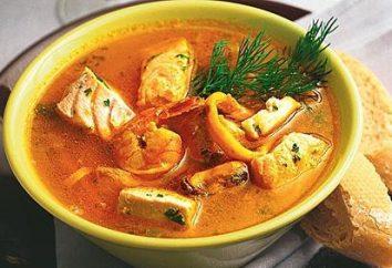 Workshop zum Kochen: Wie Fischsuppe in multivarka kochen