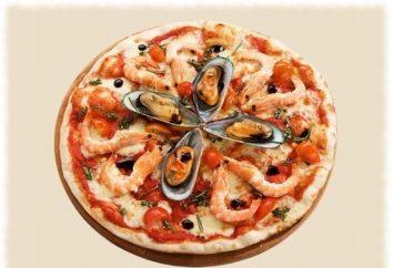 fragrante pizza fatta in casa con frutti di mare: una ricetta che la potenza di ogni