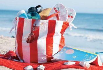 Strandtasche mit den Händen: nähen, dekorieren selbst erziehen