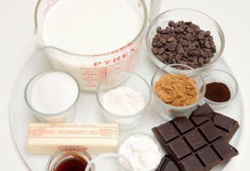 Muffins mit Schokoladenstückchen: das Rezept mit einem Foto