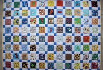 Patchwork-Decke mit den Händen: die Schaltungsbeschreibung. Wie eine Decke mit den Händen nähen?