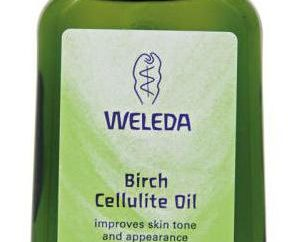 Birch Cellulit Oil Weleda: Opinie