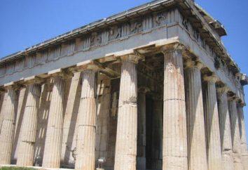 Temple d'Athena Alaei – l'un des plus célèbres temples de l'ancienne déesse grecque Athéna