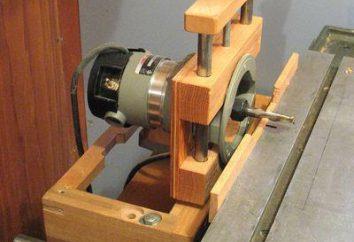 Holzbearbeitungsmaschine mit seinen eigenen Händen: eine detaillierte Beschreibung der Herstellung