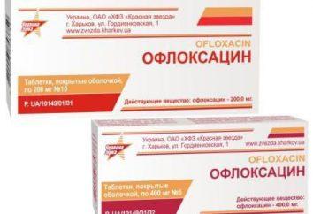 """Lek """"Ofloxacin"""": referencje pacjenta. Instrukcje stosowania antybiotyku """"Ofloxacin"""""""