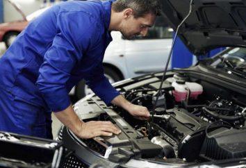 Descripción del trabajo mecánico de los vehículos. Descripción del puesto de jefe mecánico de motores
