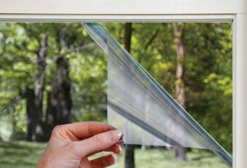 le film d'économie d'énergie sur la fenêtre: Caractéristiques, installation, commentaires