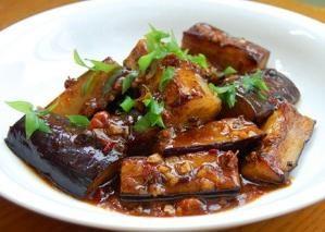Receita comida chinesa: berinjela em molho doce e azedo