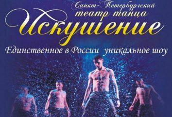"""Teatr Tańca """"Temptation"""": pokaz w deszczu. widzowie gości"""