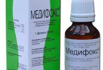"""""""Medifoks"""" – die Vorbereitung der Läuse. """"Medifoks"""": Bewertungen, Anwendungen, Anweisungen, Preis"""