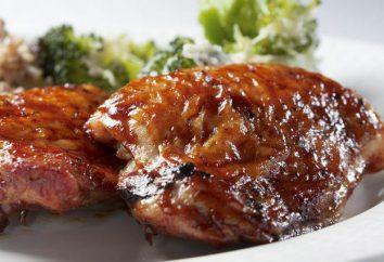 pezzi di pollo Delicious nel forno: ricette