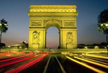 Mundialmente famoso Arc de Triomphe