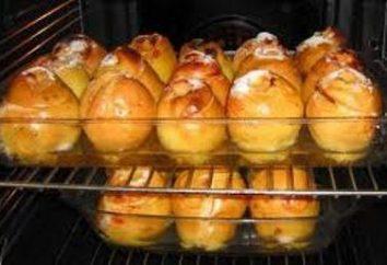 Cotogna piccante, cotta nel forno con ripieno salato