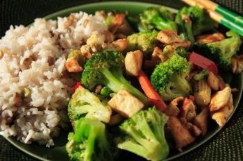 menu végétarien sain et savoureux