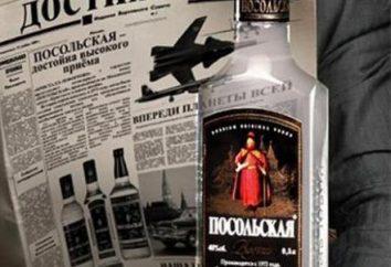 """""""Ambasciata"""" di vodka. Composizione, produzione, prezzo"""