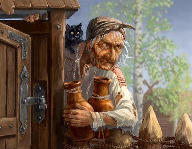 Racconti popolari russi baba yaga