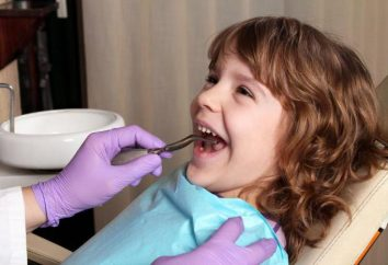 Dentisterie pédiatrique (Volzhsky) et ses particularités