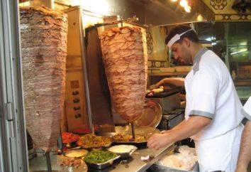 Semplice shawarma cucina a casa