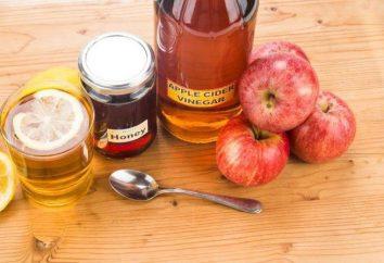 aceto di mele con il miele: i benefici ei rischi, recensioni