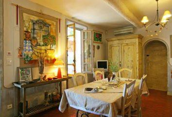 stile provenzale al suo interno – il romanticismo e intimità provincia francese