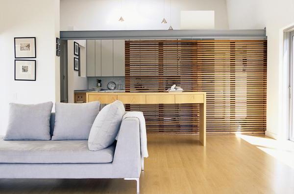 die trennwand zwischen k che und wohnzimmer elegante l sung. Black Bedroom Furniture Sets. Home Design Ideas