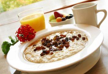 La harina de avena para el desayuno – no aburrido!