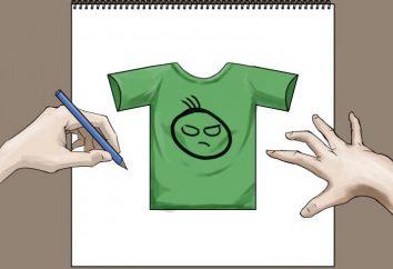 Jak narysować koszulkę: podstawowe zalecenia i kroki
