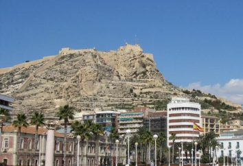 Twierdza Santa Barbara w Alicante: historia i zdjęcia