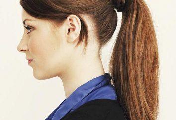 Belle code capelli lunghi su: opzioni per acconciature alla moda
