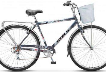 Bike Stels Navigator 350: description, caractéristiques et commentaires