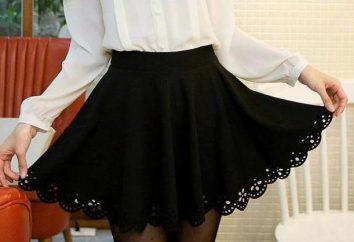 Gonna nera-sole: come cucire e cosa indossare?