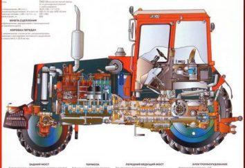 MTZ-1221: description des caractéristiques techniques, le circuit de l'appareil et commentaires