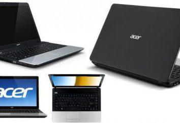 Laptop Acer Aspire E1-531: przegląd modeli, zdjęcia