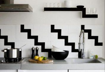 Küche mit den Händen Dekor. Deko-Ideen für die Küche. Wie eine kleine Küche Dekor machen