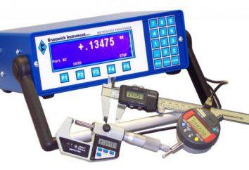Metrologia: medição, um instrumento de medição. meios de classificação medindo