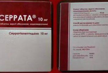 """""""Serrata"""" (Tabletten): Anweisung auf den Preis und Bewertungen"""
