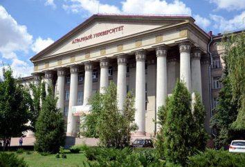 Agricultural University (Volgograd): Abteilungen und Bewertungen