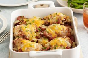 Ciekawe dania gorące kurczaka: pierwszy i drugi