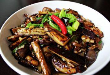Berenjena en chino: Receta