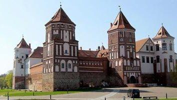 Castello di Mir in Bielorussia – l'incarnazione della storia nella pietra