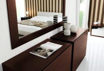 Te różne kredensy dla sypialni