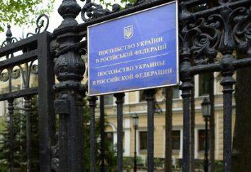 Ukraińska ambasada w Moskwie. Ambasada Ukrainy