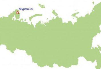 Où se trouve Mourmansk? Longitude et latitude de Mourmansk