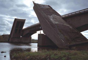 Ponte Berlim em Kaliningrad. ponte Berlim entrou em colapso em Kaliningrado