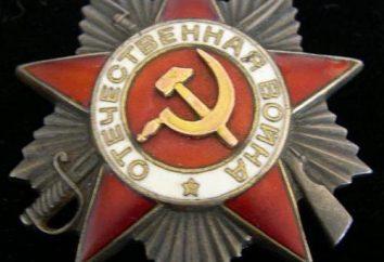 Ordem Militar da Segunda Guerra Mundial. Quem foi premiado com ordens militares e medalhas da URSS?