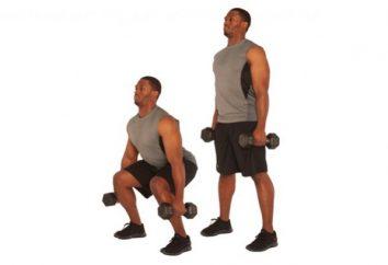 Exercícios com halteres para a perda de peso – uma excelente oportunidade de se envolver, sem sair de casa