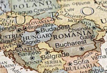 La población de Europa del Este. Breve descripción de los estados más grandes en la región