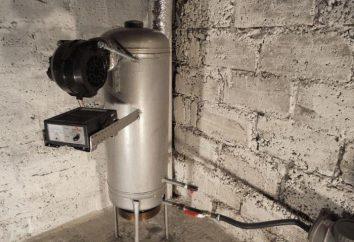 Forno per lavorare fuori sovralimentato: progettazione, principio di funzionamento. fornace di olio